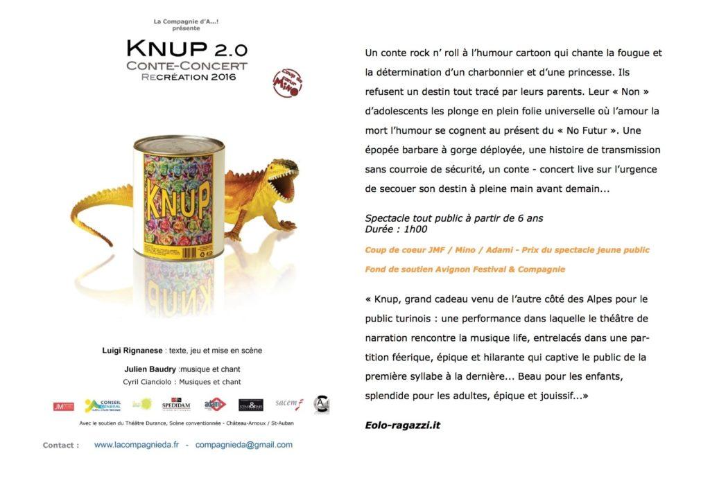 Knup 2.0 par la compagnie d'A...!